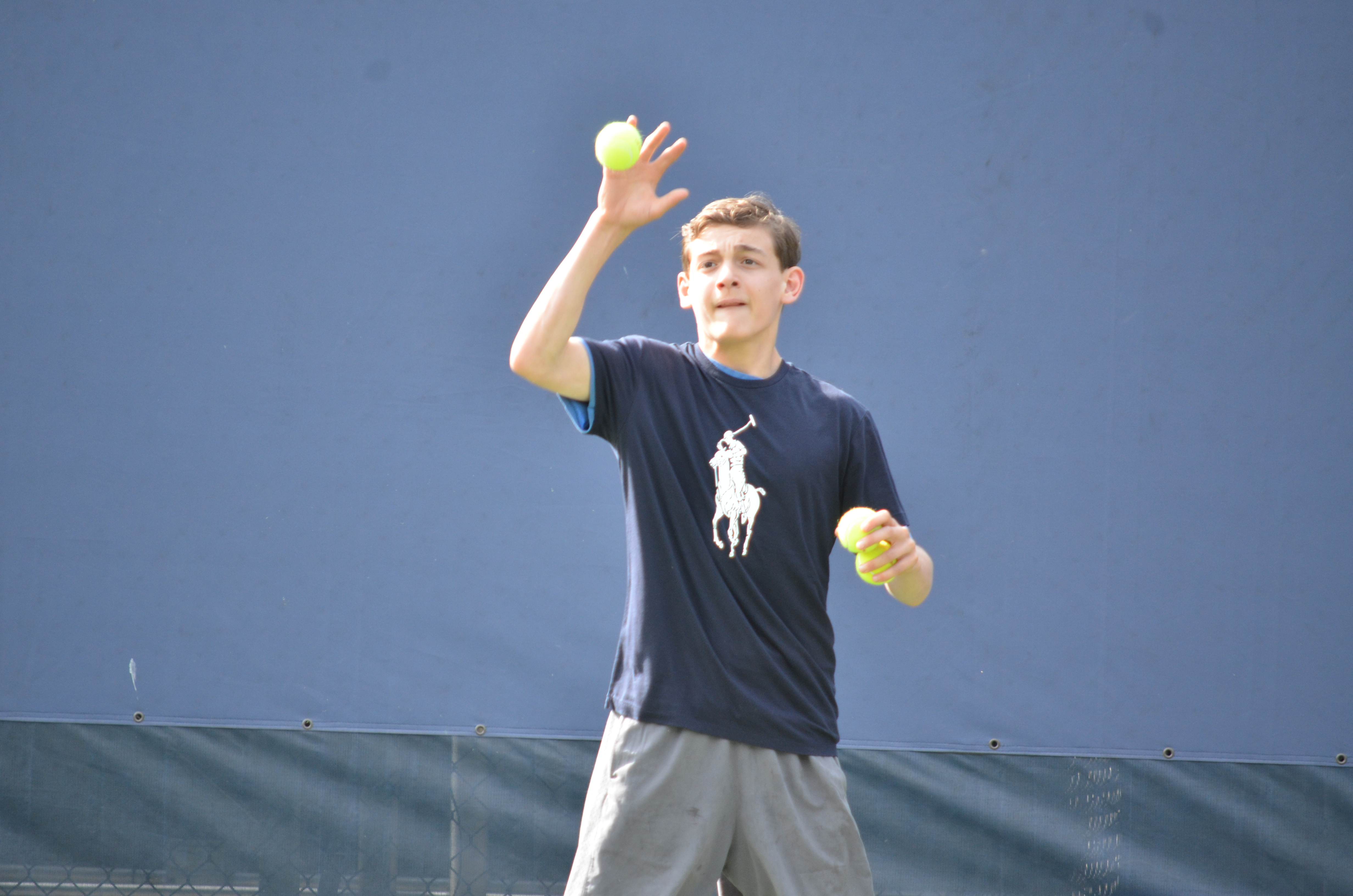e77682804 Locals Try to Make the Cut at U.S. Open Ballperson Tryouts