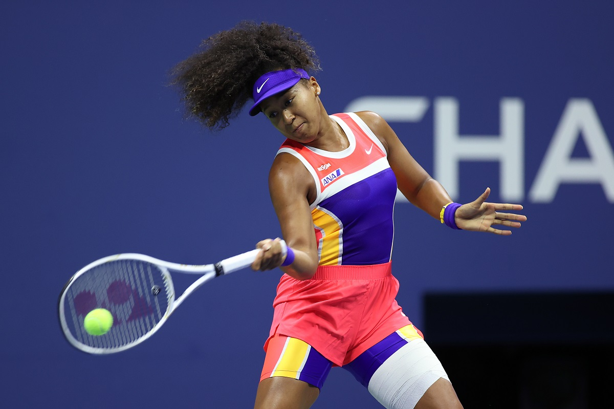 Naomi Osaka is back into the U.S. Open final after defeating American Jennifer Brady on Thursday night.