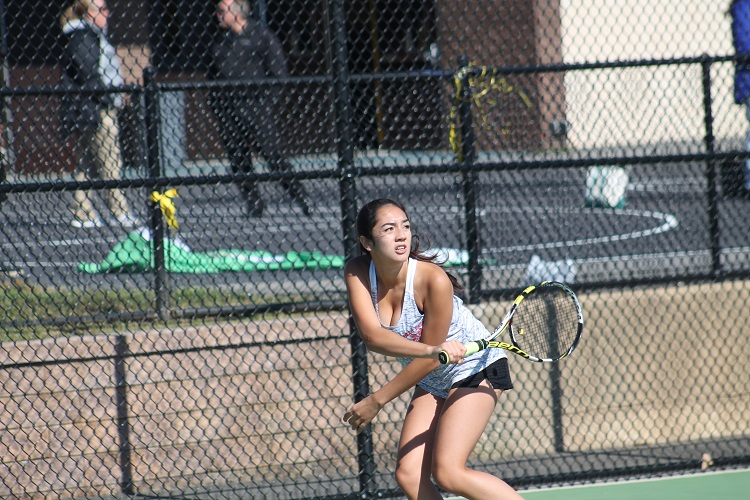 Suffolk County Doubles Champion Alexis Huber, who competes in the singles lineup during the regular season, returns to the lineup for the Half Hollow Hills East Thunderbirds for the 2019 season.