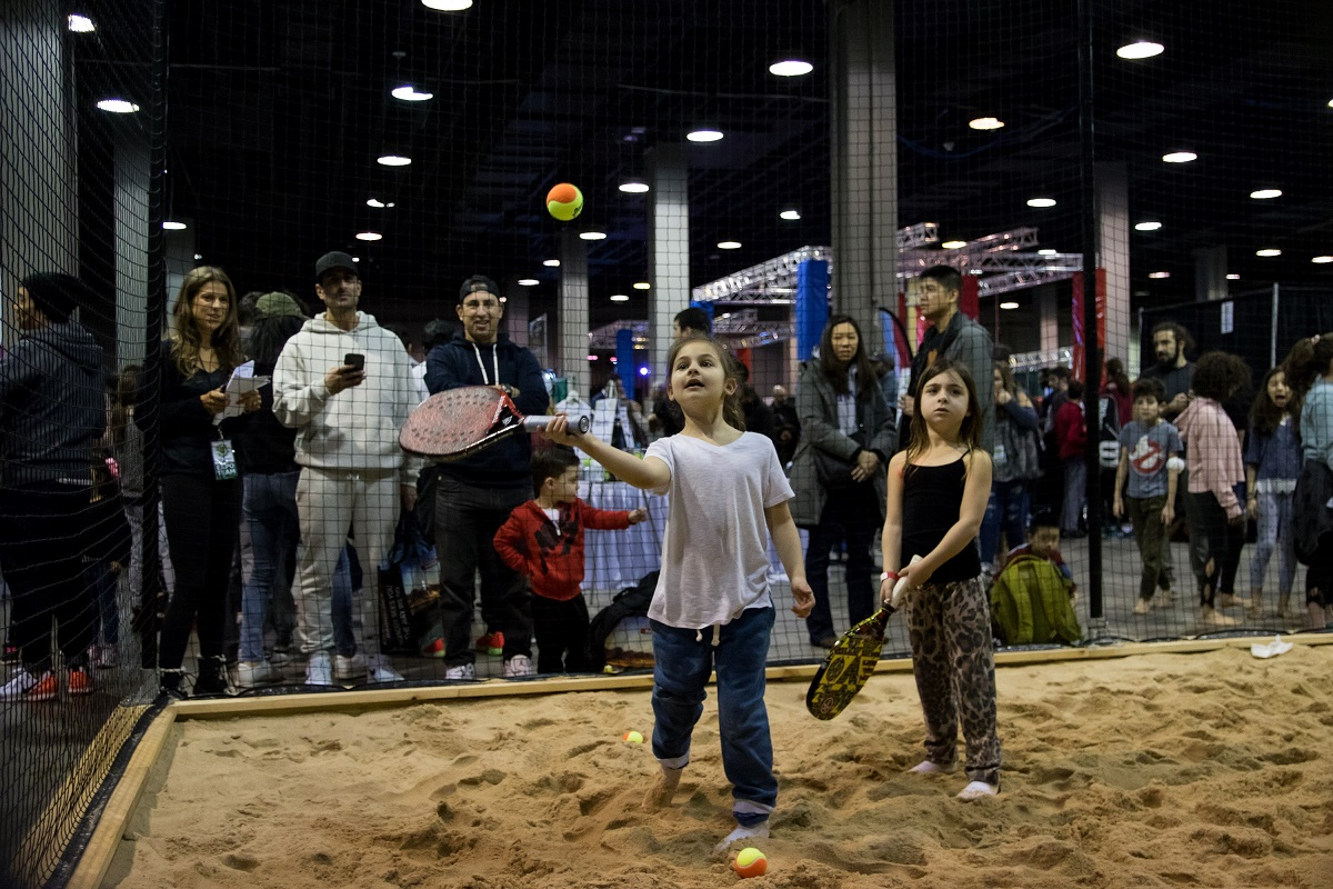The 2020 New York Tennis Expo is just one month away. Make sure to sign up for your free ticket and come enjoy an array of games and activities on Sunday, Feb. 9, including Beach Tennis.