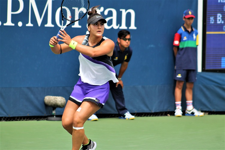 Bianca Andreescu hit 18 winners on Saturday to cap off an amazing fortnight in Queens.