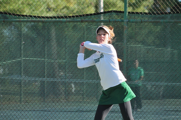 Rose Hayes lost just one set all-season long in the first singles spot, and was a huge addition to the Westhampton Beach team this season.