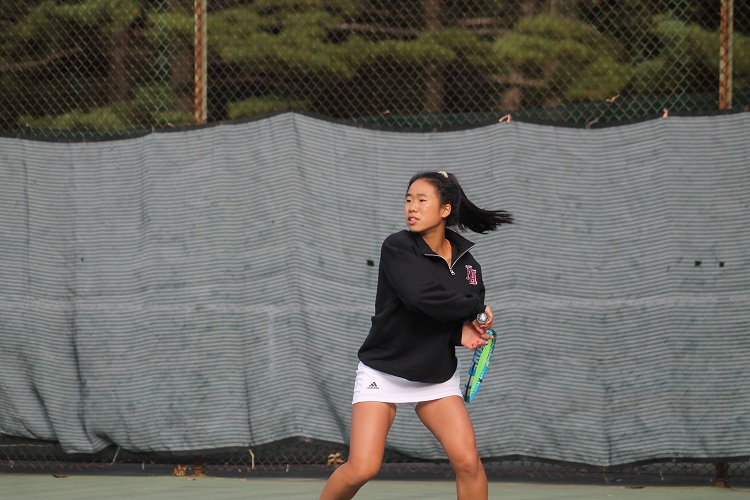 Friends Academy's Calista Sha was the runner-up at the 2018 Nassau County Girls Individual Championships.