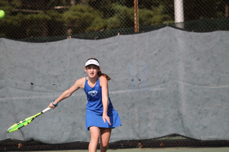 Port Washington's Thea Rabman will be heading to the NYSPHSAA Championships after finishing in third at the Nassau County Championships this past weekend.