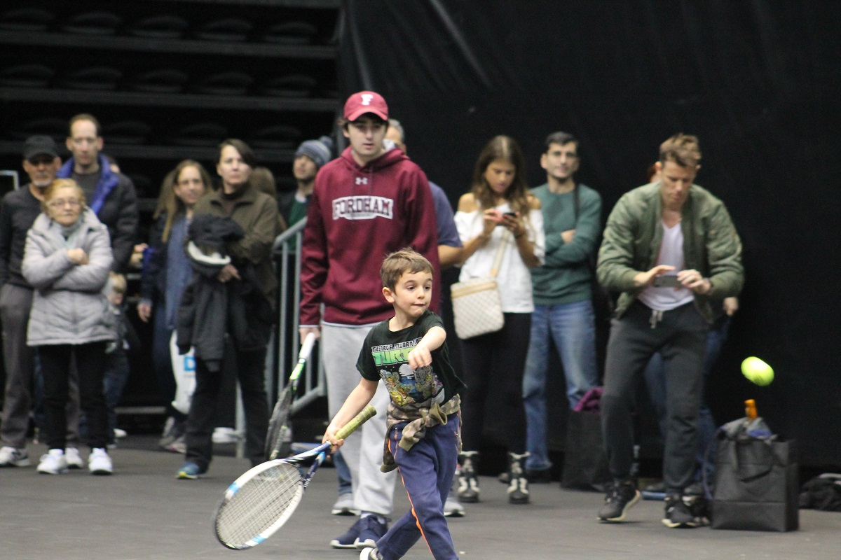 Step inside NYCB LIVE, home of the Nassau Veterans Memorial Coliseum on Saturday, February 9 from 10:30 a.m. – 4:30 p.m. for an array of tennis programming for people of all ages and levels.
