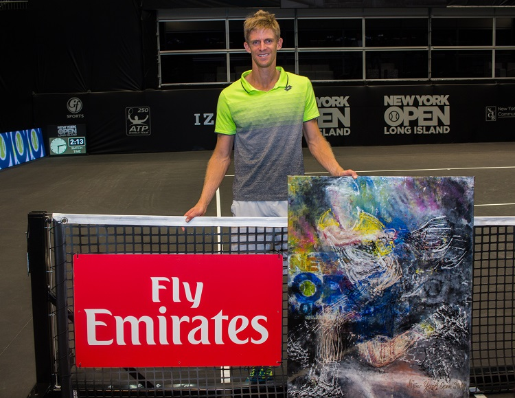 Kevin Anderson, the inaugural New York Open champion, will return to Long Island in 2019.
