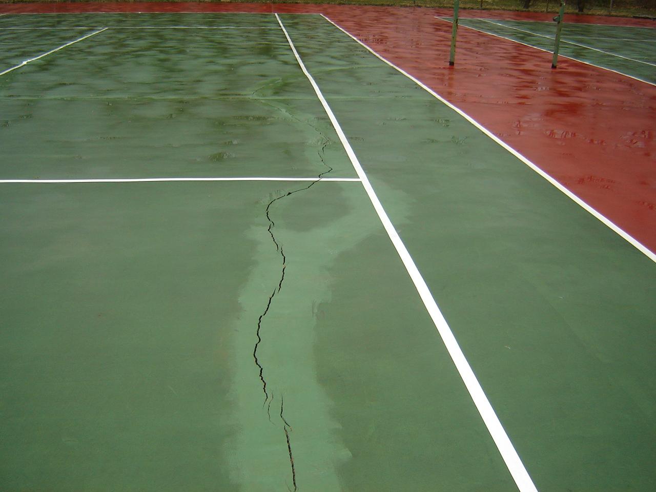 Why Does My Tennis Court Crack? | Long Island Tennis Magazine