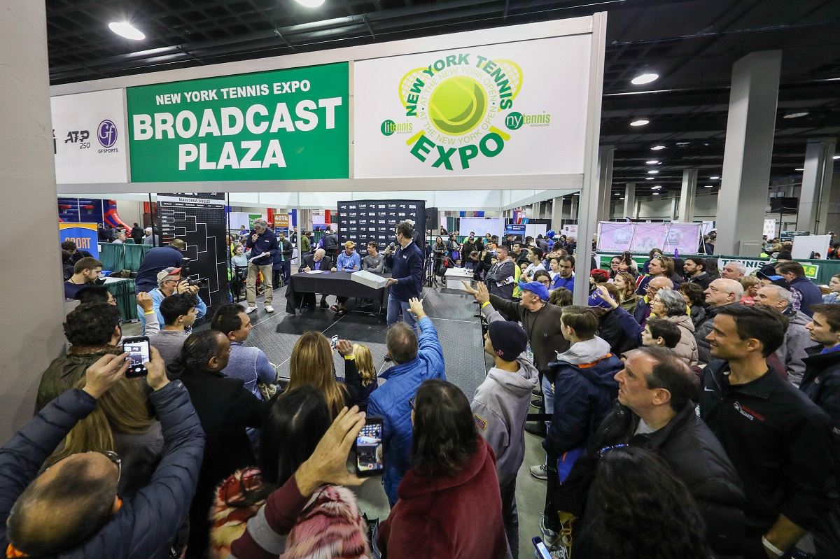 Back and better than ever, the New York Tennis Expo returned to NYCB LIVE, home of the Nassau Veterans Memorial Coliseum on Feb. 9, with more than 5,000 people coming out for an all-day celebration of tennis.