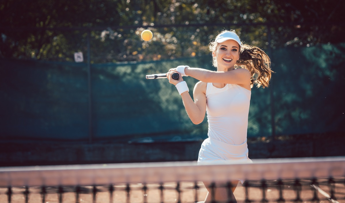One of the most important concepts a tennis player will learn is to take control of the point.