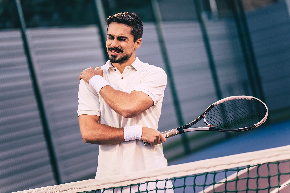 Often overlooked, shoulder pain is among the most common overuse tennis injuries. The shoulder joint has the biggest capacity for movement, and therefore, is the easiest to damage.