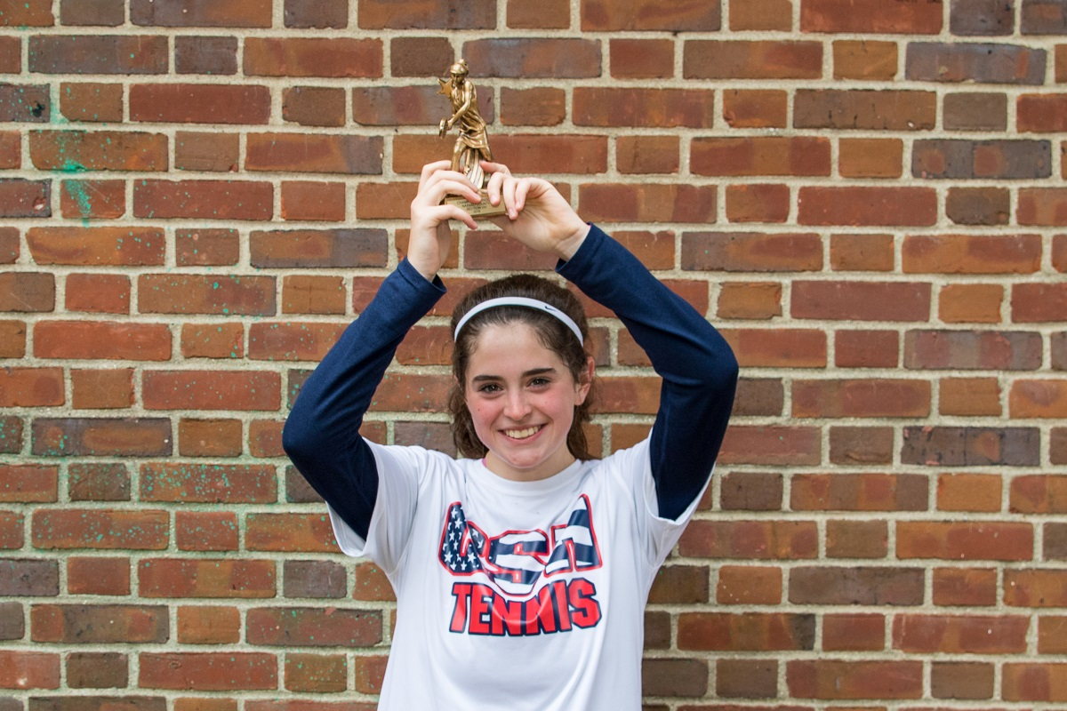 Cold Spring Harbor's Merri Kelly Hannity won her second career Nassau County singles title.