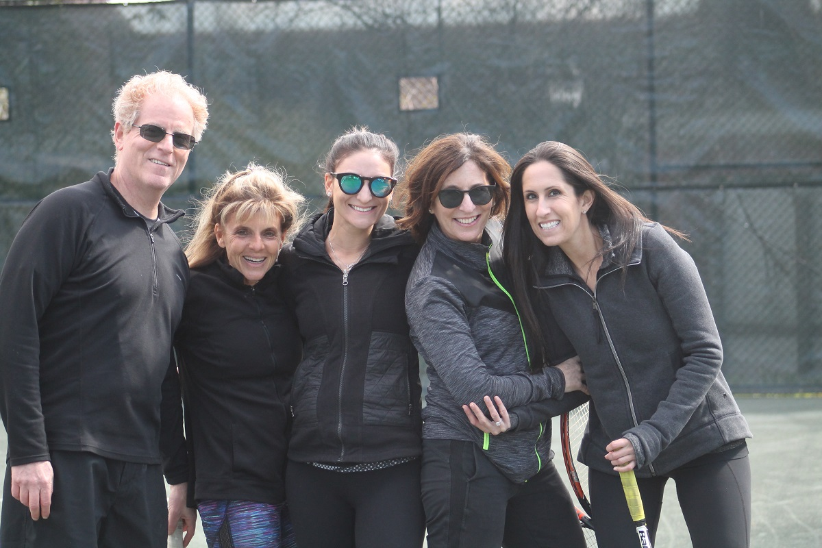 Pine Hollow Country Club ushered in a new season of tennis at its facility on Sunday afternoon as it hosted its annual Opening Day Carnival.
