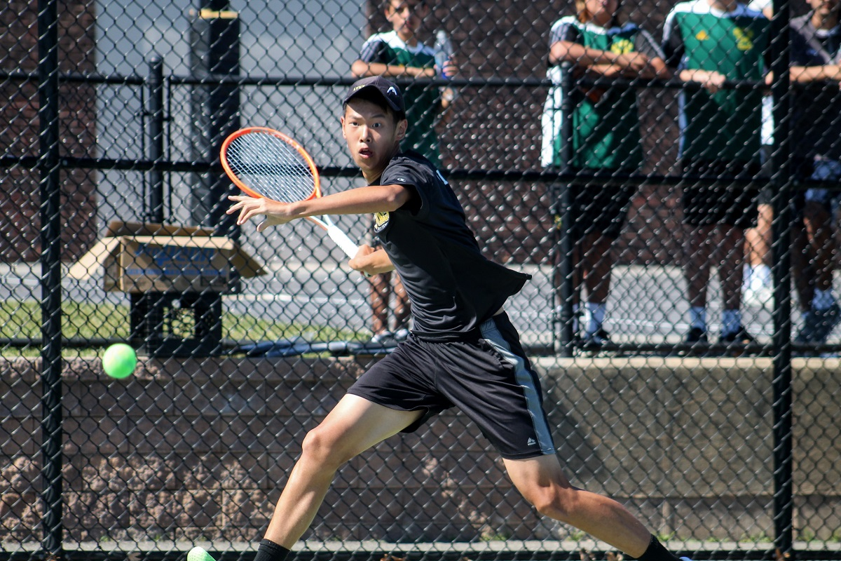 Eddie Liao won at first singles as Commack captured the Suffolk County title on Thursday.