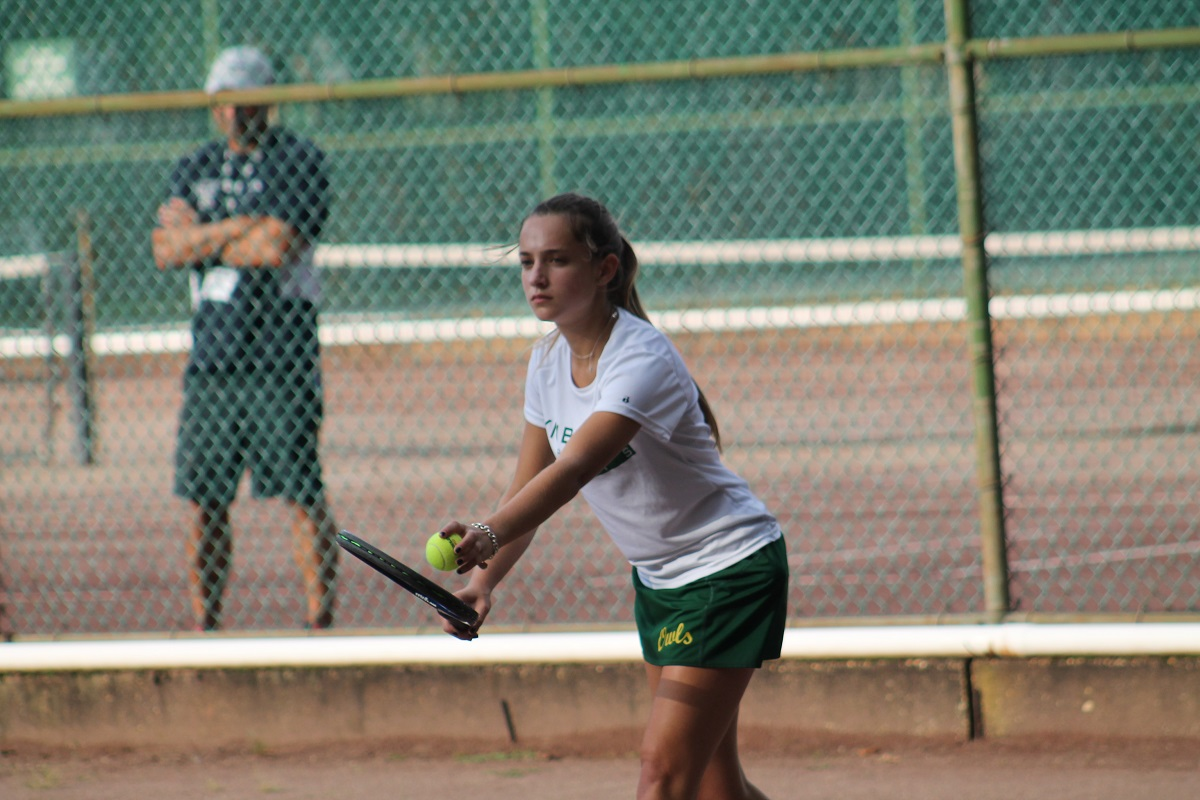 Allison Shifflett clinched Lynbrook's 4-3 win on Wednesday with a three-set win at third singles.
