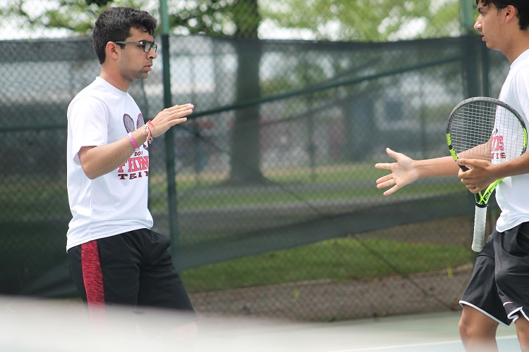 Samir Singh and Alexander Roti qualified for the NYSPHSAA Championships by reaching the Nassau County doubles final.