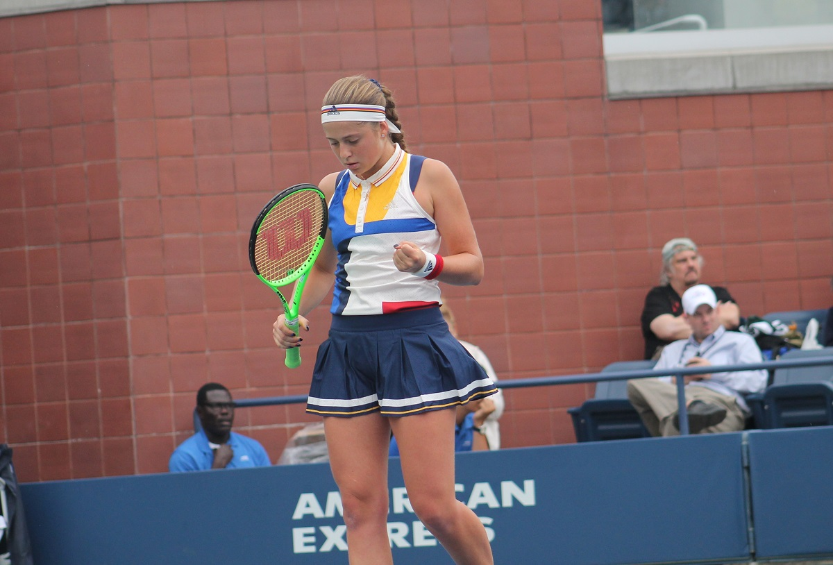 The 12th seeded Latvian defeated Dominika Cibulkova 7-5, 6-4 as she continued her streak of straight set wins at the All-England Club.
