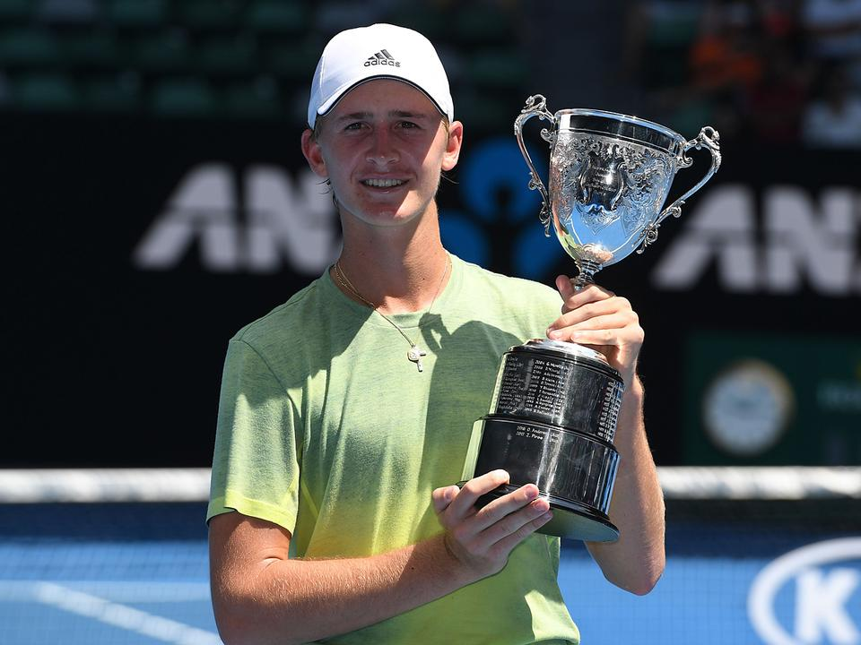 2018 Australian Open boys' singles champion, Sebastian Korda, has been awarded a wildcard into the New York Open's main draw (credit photo to the Australian Open)