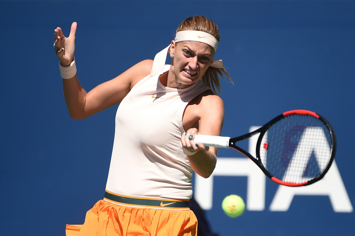 Czech Republic's Petra Kvitova became the first player to win multiple titles this season as she defeated Anett Kontaveit of Estonia 6-3, 7-6(2) in the Porsche Tennis Grand Prix finals on Sunday.