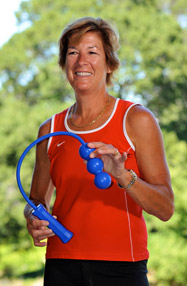 Lisa Dodson is the inventor and founder of ServeMaster, the unique tennis teaching tool.
