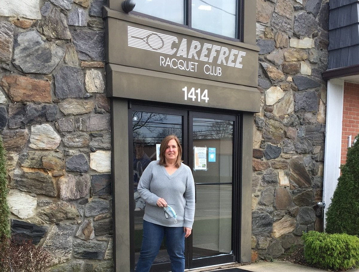 Kathy Miller has been the General Manager at Carefree Racquet Club in North Merrick for more than two decades.