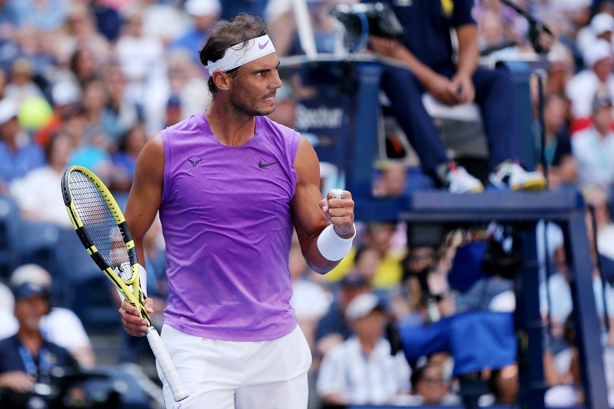 Rafael Nadal advanced to his fifth US Open final on Friday night.