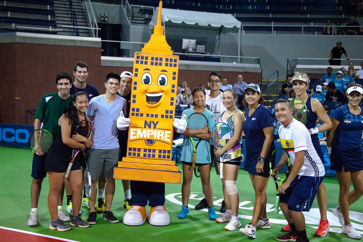 The New York Empire presented by Citi announced today the themes for each of the team's seven home matches during the 2019 season at Cary Leeds Center for Tennis & Learning in the Bronx, N.Y.