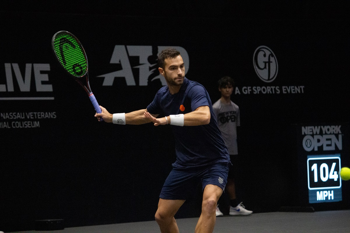 Noah Rubin will return to Long Island to compete in the New York Open qualifying on Sunday.