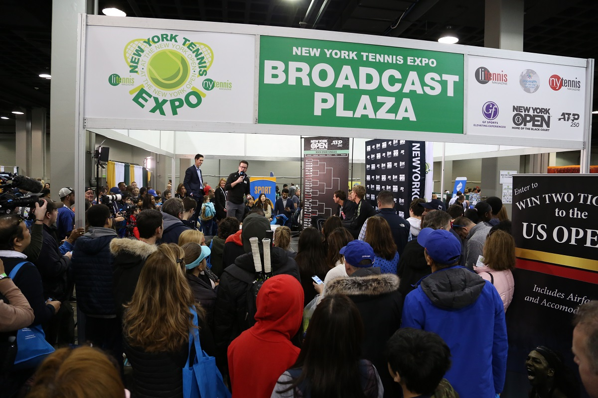 The 2020 New York Tennis Expo brought a record crowd out to Nassau Coliseum. With new activities and events added, the Expo continues to grow each year.