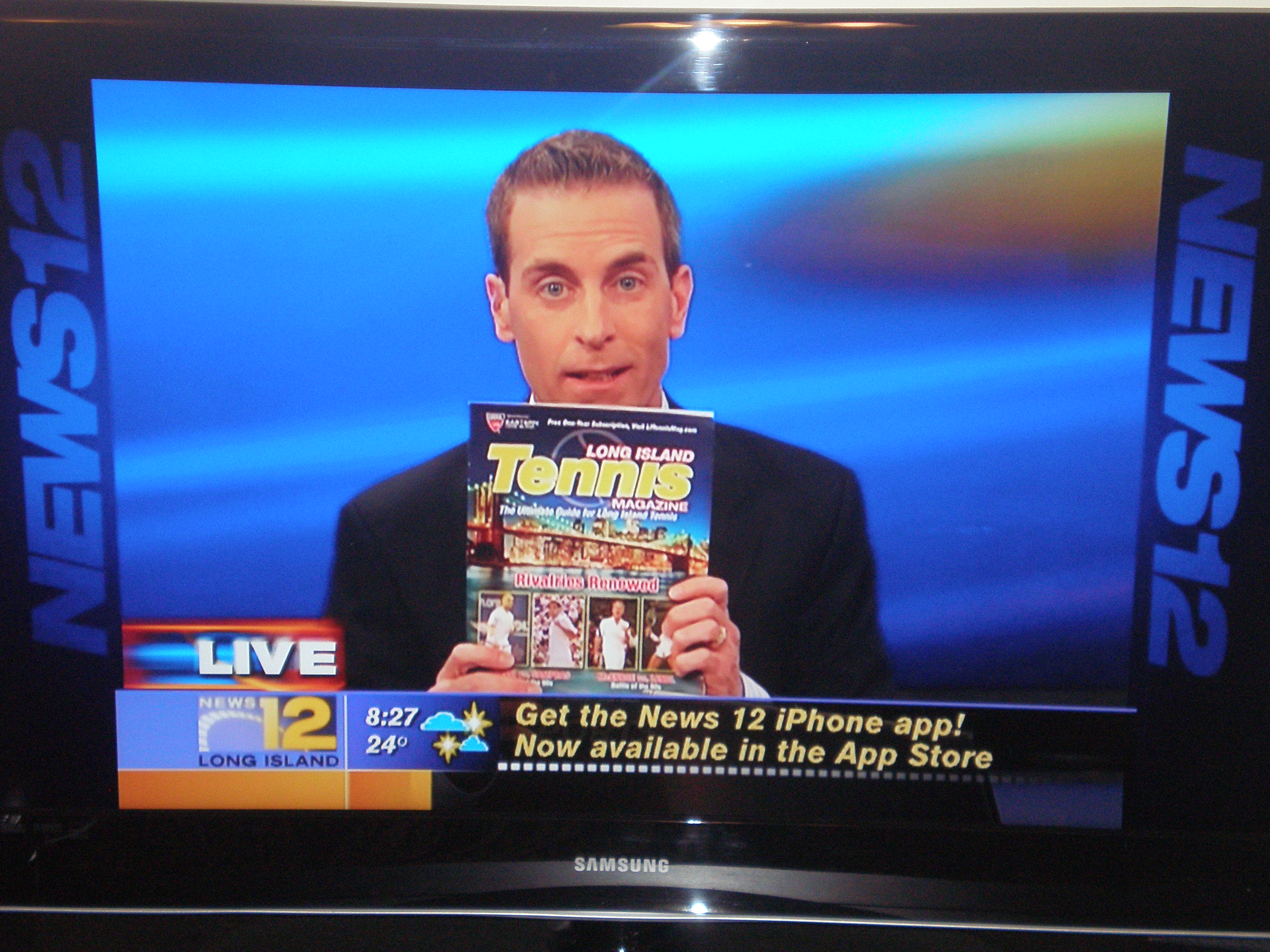 2nd Annual Long Island Tennis Expo Promoted on News 12 Long Island