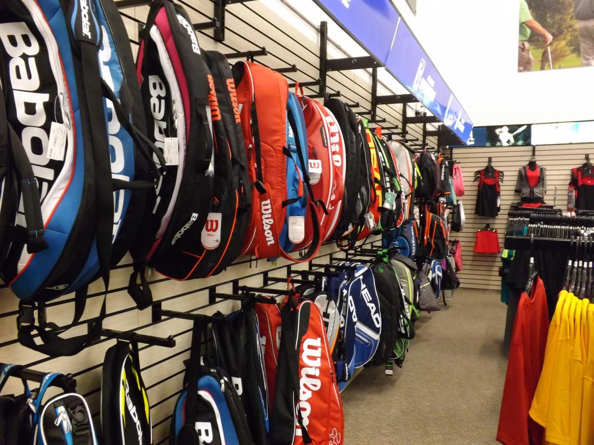 PGA Tour Superstore is more than just a hub for golf lovers and is quickly making its tennis presence felt on Long Island