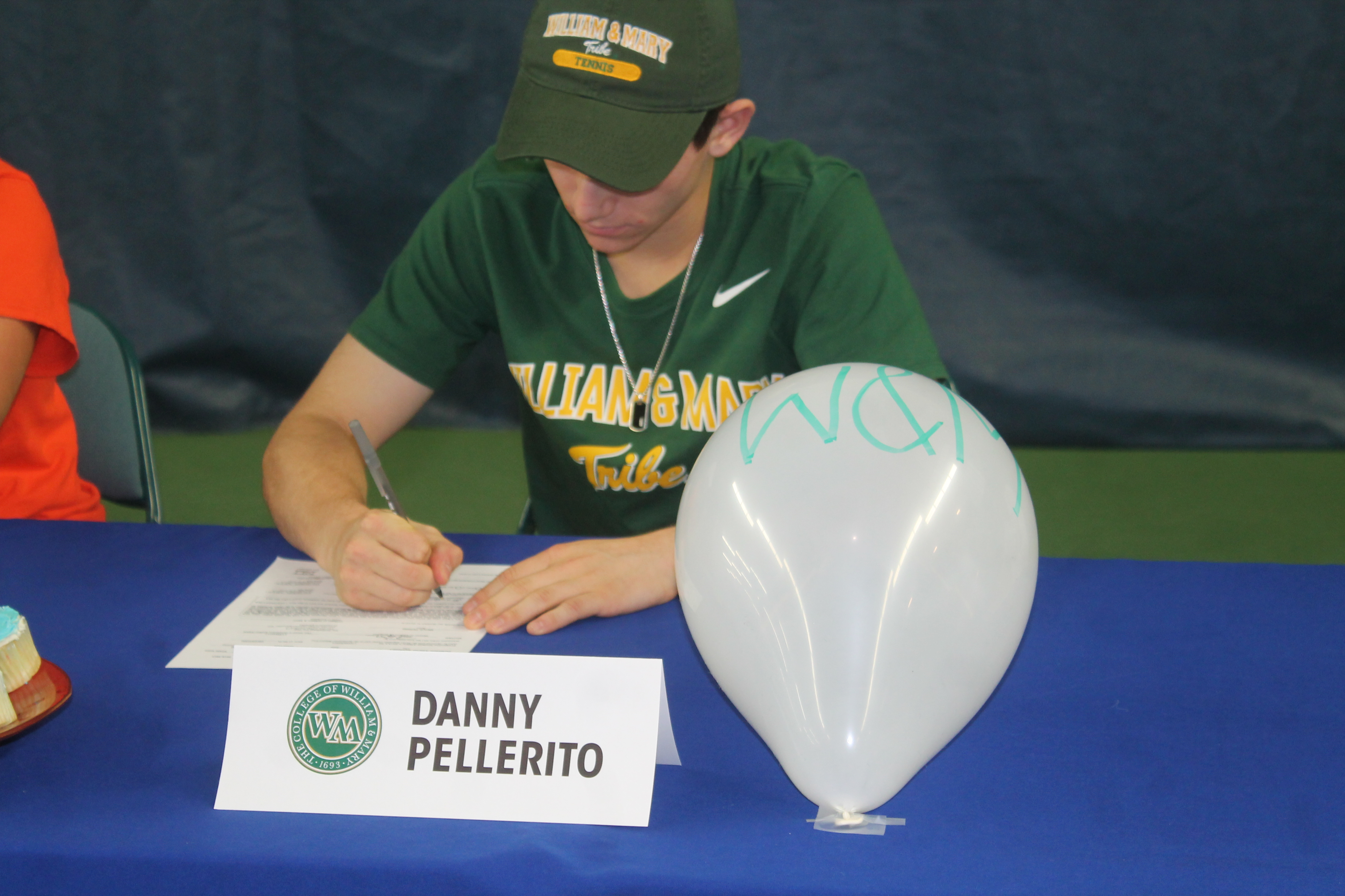 Next fall, William & Mary will have a new addition to its roster when Daniel Pellerito steps onto the school's Williamsburg, Va. campus for his freshman season