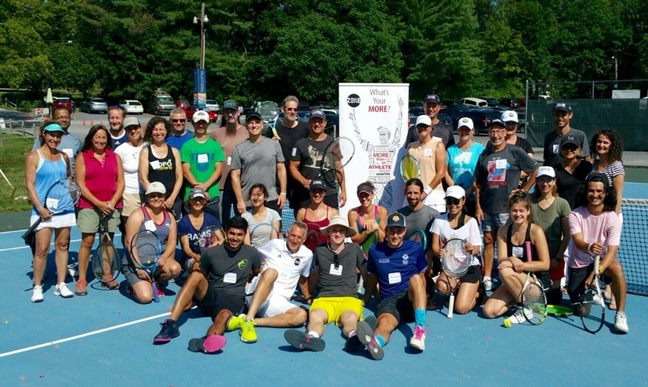 """Author and Mental Training Coach Rob Polishook recently instructued his """"Tennis Inside the Zone: Becoming More Than an Athlete"""" workshop where the group examined the re-discovery of """"fun"""" in the sport of tennis."""