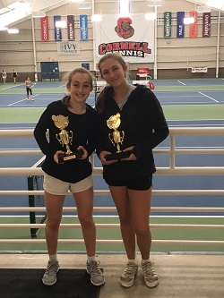 Thea Rabman & Nina Wiese after capturing the Empire Cup Nationals at Cornell University.