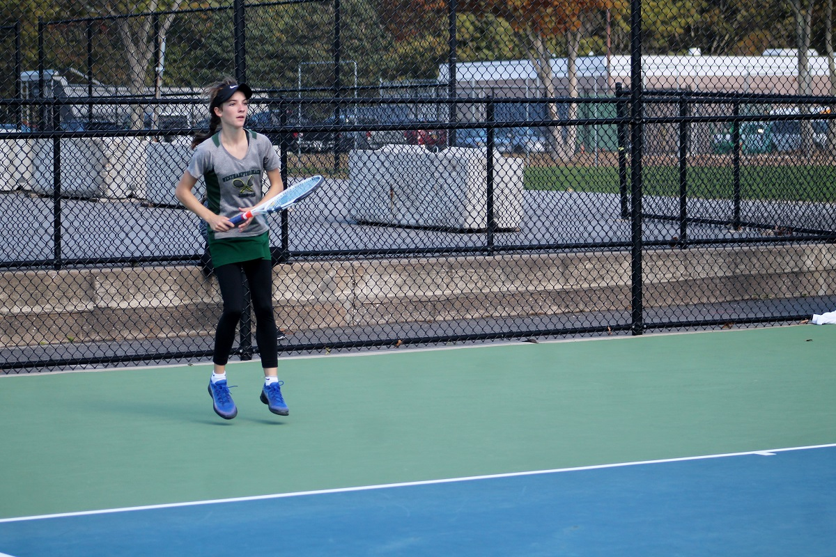 Gabriele Brancatelli won his match at second singles to help lead Port Washington to the Long Island title.