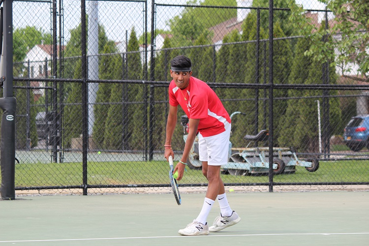 Aryan Sethi capped off his high school career with a win at third singles in the Long Island Championship.