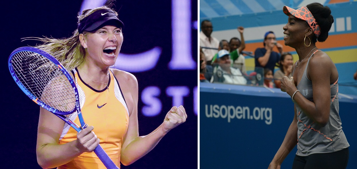 Former world number ones Maria Sharapova and Venus Williams have been awarded the first wild cards for the 2019 Western & Southern Open
