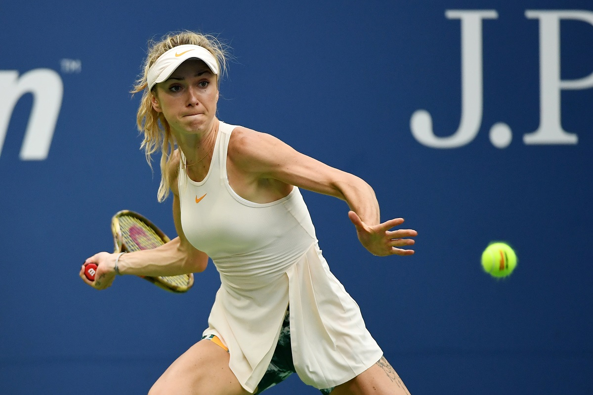 For the first time in her career, Elina Svitolina is into the semifinals of a Grand Slam.
