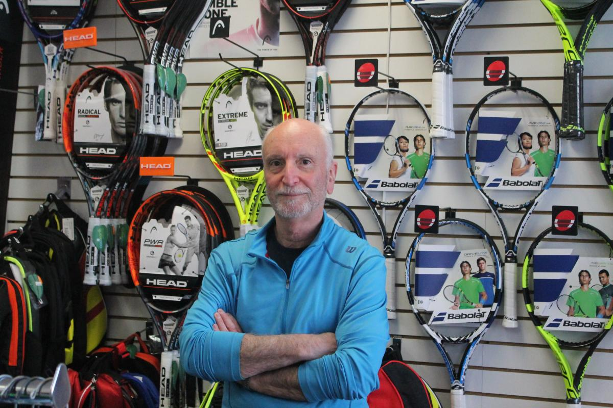 TopSpin Tennis & Fitness is Nassau County's top tennis specialty shop