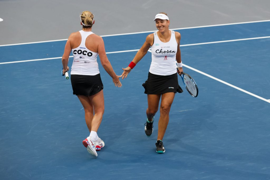 The New York Empire traded for Coco Vandeweghe and Nicole Melichar to bolster its roster for a playoff run.