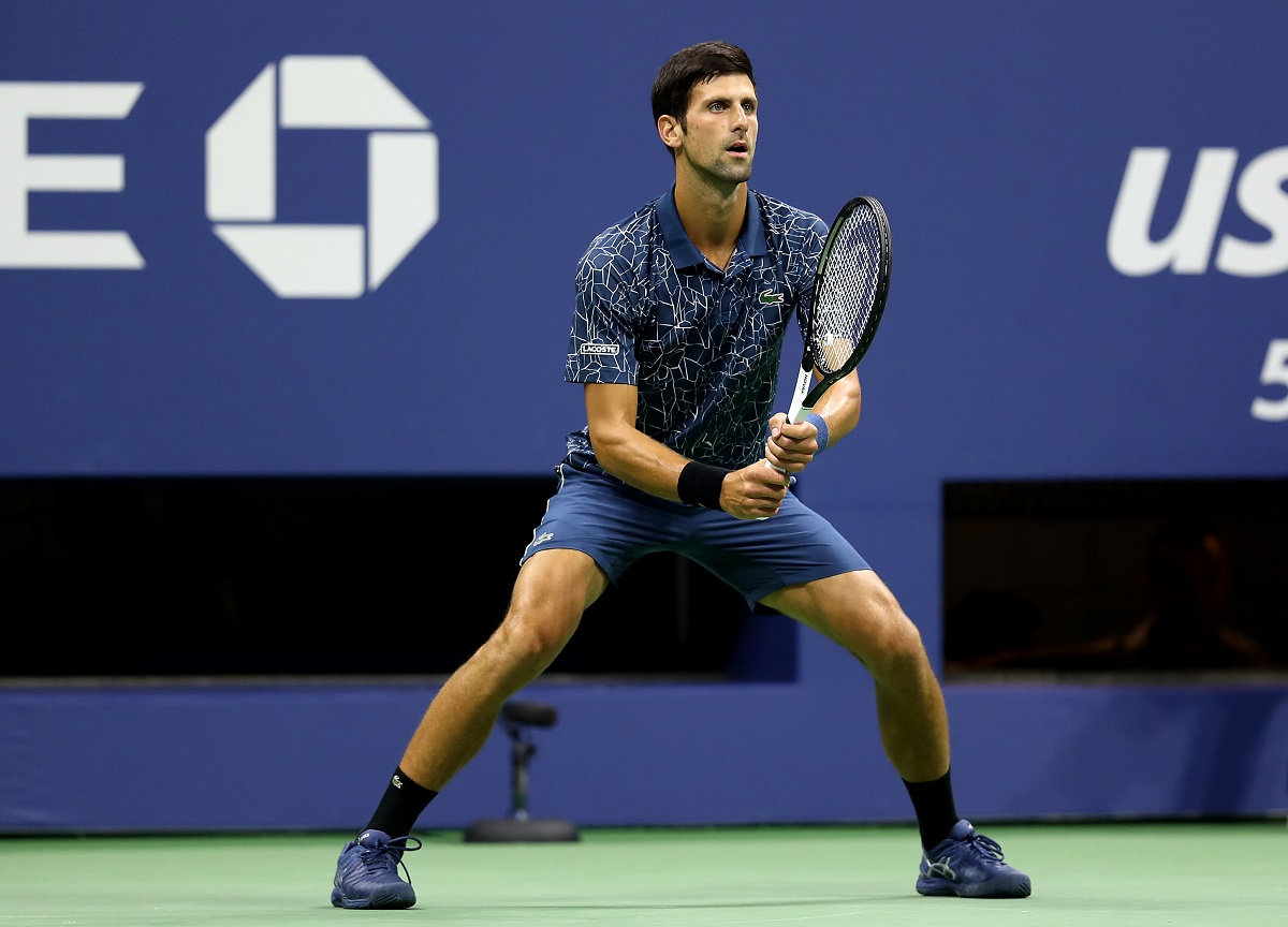 Novak Djokovic came back from two sets down to reach the French Open quarterfinals on Monday.