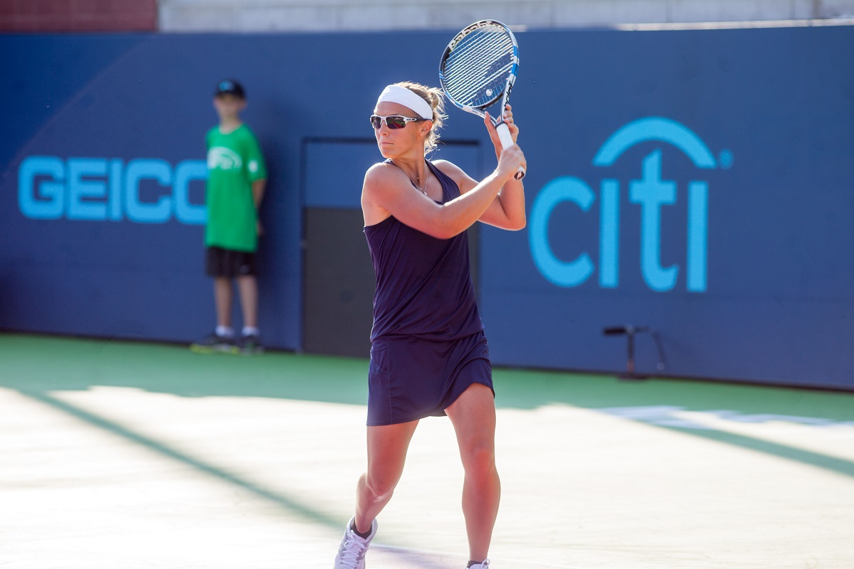 Kirsten Flipkens returns to the New York Empire this season as she was taken first overall in Tuesday's World TeamTennis Draft.