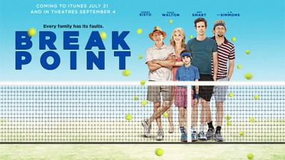 The Bryan Brothers made their big-screen debut in the Broad Green Pictures comedy, Break Point