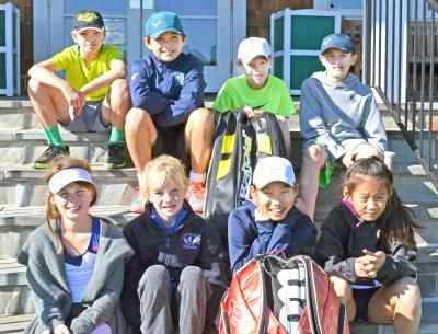 """Long Islanders Luke Louchheim and Alexander Karman were among the four boys and four girls chosen to represent the USTA Eastern Section at its Annual """"Capital Clash"""" 10-and-under round robin tournament held over the weekend of Oct. 19-20 at the USTA Regional Training Center in College Park, Md."""