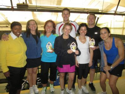 The team from Carefree Racquet Club, Merrick, was the overall winner of the First Annual Club & Corporate Tennis Challenge co-sponsored by USTA Eastern Long Island and United Way of Long Island