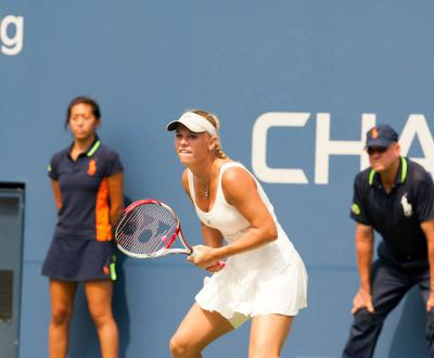 World number 11 Caroline Wozniacki defeated Samantha Stosur of Australia 6-2, 4-6, 7-5 in the finals of the 2012 Kremlin Cup to win her 20th career WTA title