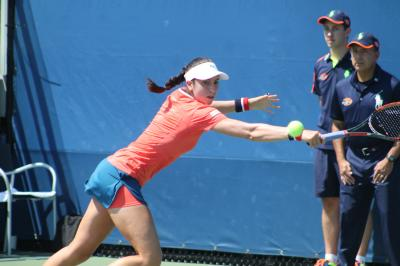 Christina McHale was one of six American women to advance at the Miami Open on Wednesday.