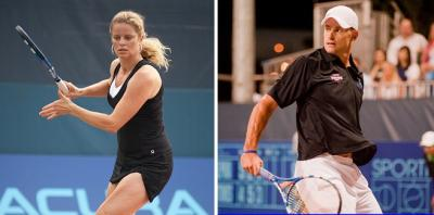 At the 2012 U.S. Open, two storied careers came to a close, as both American Andy Roddick and Belgium's Kim Clijsters took to the court for the final time in their careers