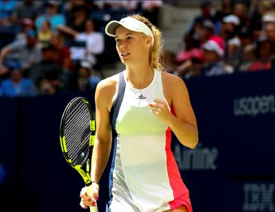 Caroline Wozniacki needed two hours and nine minutes to get past Heather Watson and reach the Eastbourne final on Friday.