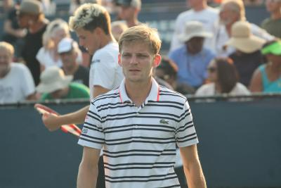 Belgian David Goffin moved into the BNP Paribas Open semifinals on Thursday, getting past former U.S. Open champion Marin Cilic 7-6(4), 6-2 at Indian Wells for a spot in his first ATP World Tour Masters 1000 semifinal
