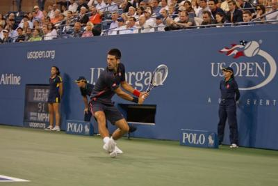 Top-seeded Novak Djokovic defeated Radek Stepanek in straight sets 6-4, 6-3, 7-5 on Friday, extending his winning streak to 17 matches at the Australian Open